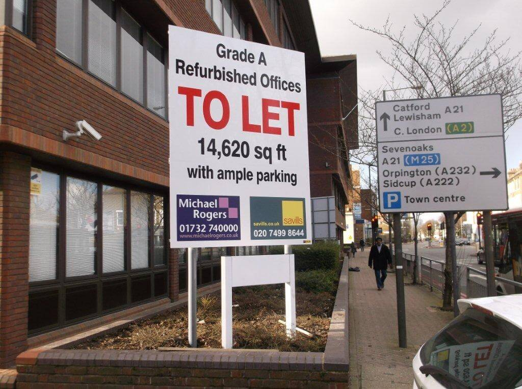 To Let Estate Agent Boards